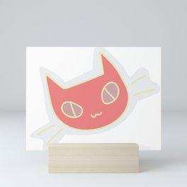 rotom cat Mini Art Print