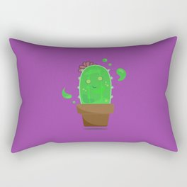 Ectplasmic Cactus Rectangular Pillow