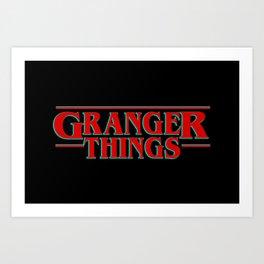 Granger Things ! Art Print