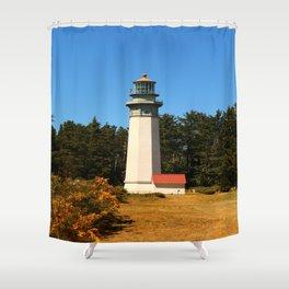 Grays Harbor Light Station Shower Curtain