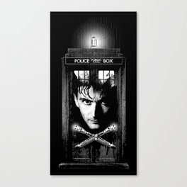 David the Tenth Doctor Canvas Print