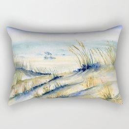 Ocean City Beach Maryland Rectangular Pillow