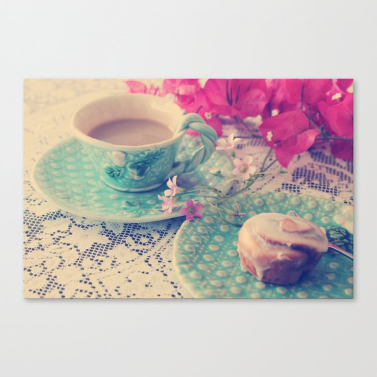 Sweet Morning Canvas Print