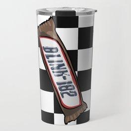 snickers-182 x checkers Travel Mug