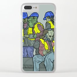 The Builders: Urban Fantasy Clear iPhone Case