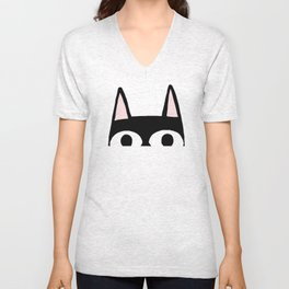 Peking Cat Unisex V-Neck