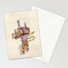 CandyHand Zombie  Stationery Cards