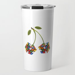 Cherry rubik Travel Mug