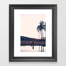 jess2 Framed Art Print