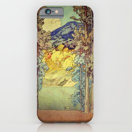 Returning to Hoyi iPhone Case