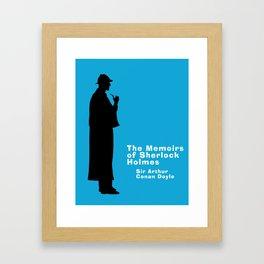 The Memoirs of Sherlock Holmes Framed Art Print
