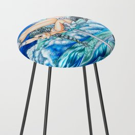 Pole Stars - CANCER Counter Stool