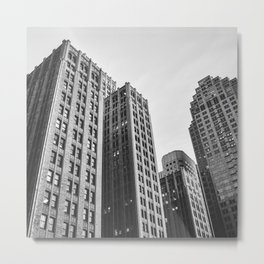 Buildings Metal Print