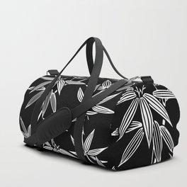 White Bamboo Duffle Bag