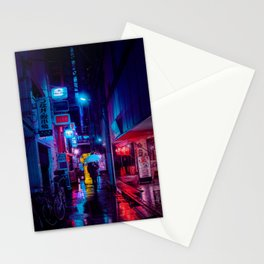Tokyo Nights / Minutes To Midnight / Liam Wong Stationery Cards