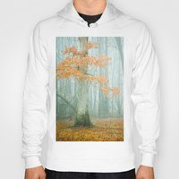 woods Hoodies featuring Autumn Woods by Olivia Joy StClaire
