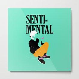 Jonghyun - Sentimental Metal Print