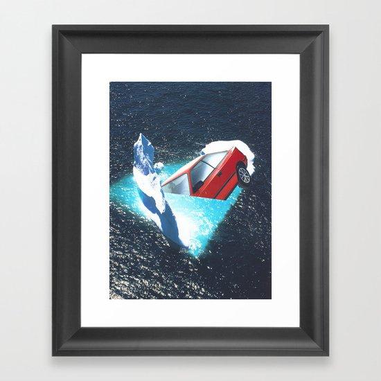 crash beauty Framed Art Print