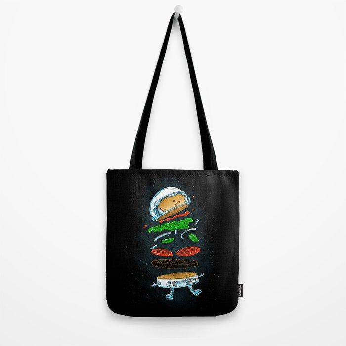 The Astronaut Burger Tote Bag