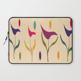 Bright Tropical Vibe Floral Laptop Sleeve