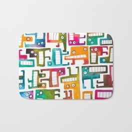 Tetris Monsters Bath Mat