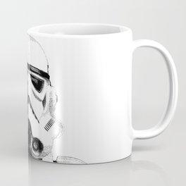 Stormtrooper Dotwork - Pointillism Fan Artwork Coffee Mug