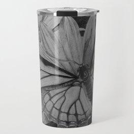 Monarch over Aster Travel Mug