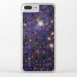 Great Wall of Code - Stars and Space Clear iPhone Case