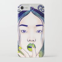 luna iPhone & iPod Cases featuring Luna by Stevyn Llewellyn