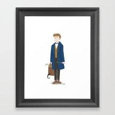 Scamander (Fantastic Beasts) Framed Art Print