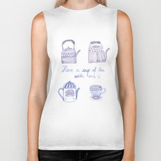 Decorative teapots Biker Tank