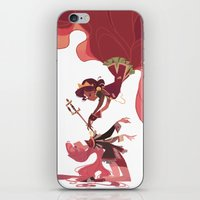 utena iPhone & iPod Skins featuring For the Rose Bride by Ann Marcellino