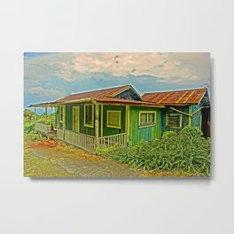 1920 Home--closed up now Metal Print