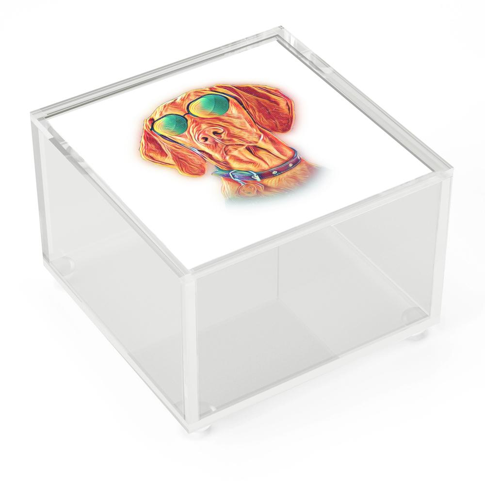 Vizsla_Neon_Dog_Sunglasses_Acrylic_Box_by_passionloft