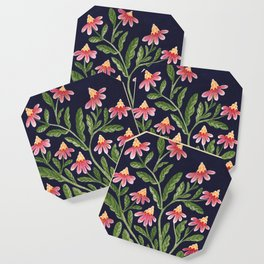 The Red Flowers Coaster