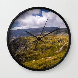 Beautiful mountain landscape Wall Clock