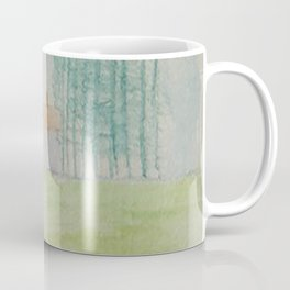 Hilltop house Coffee Mug