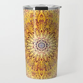 Cygnus Cosmic Mandala Travel Mug