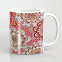 baroque Mugs featuring Baroque Obsession by micklyn