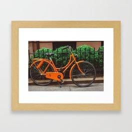Brooklyn Heights Ride Framed Art Print