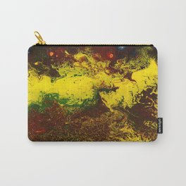 Abstract Art / A Raging Inferno by Peter Melonas Carry-All Pouch