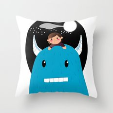 Child night Throw Pillow