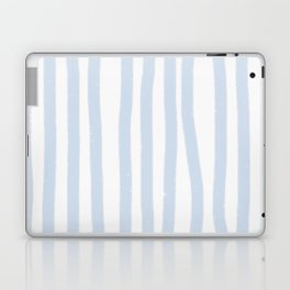 Light Blue Stripes Laptop & iPad Skin