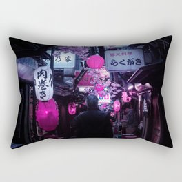 Tokyo Nights / Memory Lane / Liam Wong Rectangular Pillow