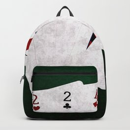 Poker Three Of A Kind Two King Three Backpack