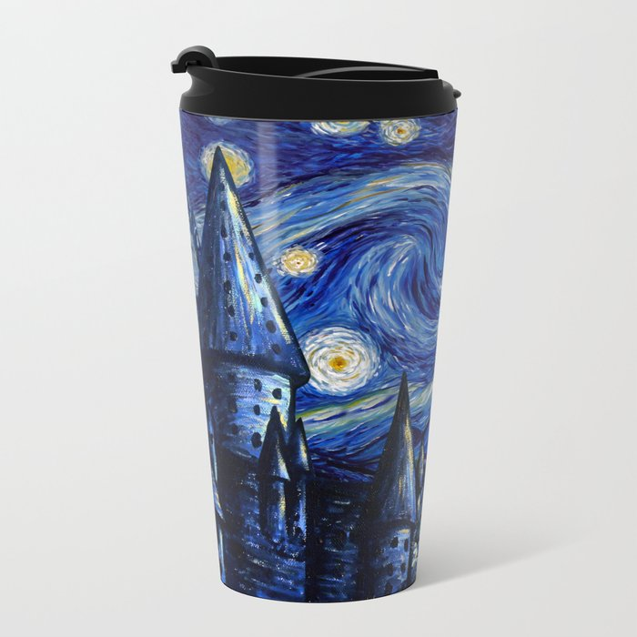 Harry And Ron on The Flying Car Metal Travel Mug