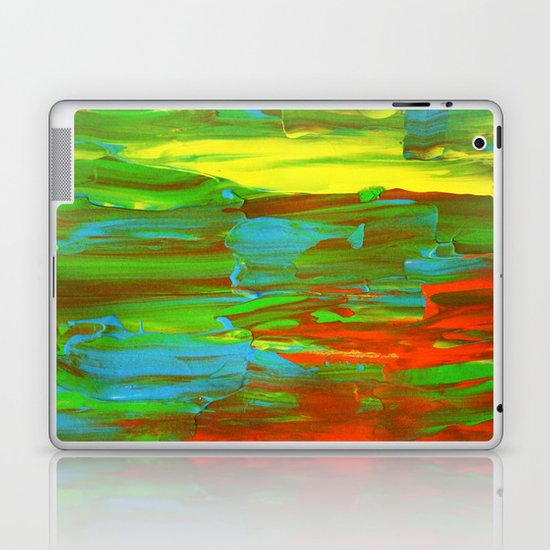 Abstract Painting 28 Laptop & iPad Skin