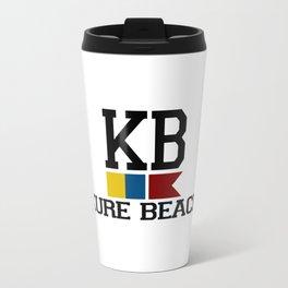 Kure Beach - North Carolina. Travel Mug