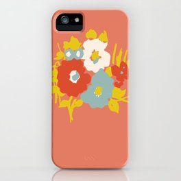 Coral Flora iPhone Case