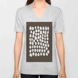 Friends come in different shapes. Unisex V-Neck
